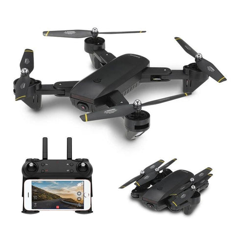107 Wifi Fpv With Dual 2Mp Camera Optical Flow Altitude Hold Mode Foldable Rc Drone Quadcopter