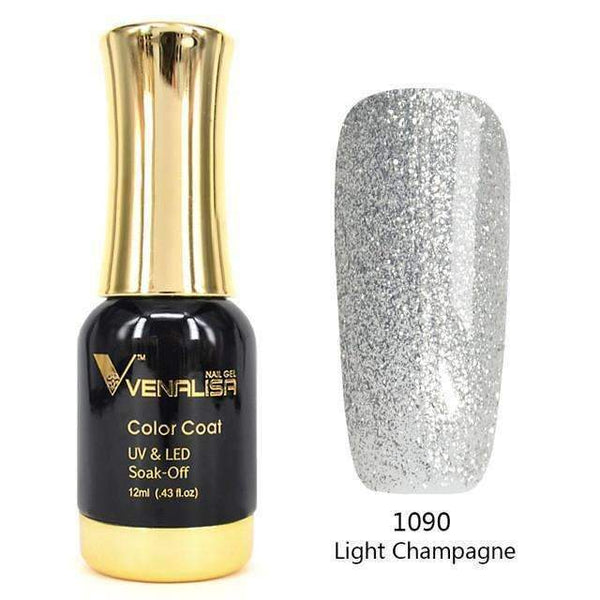PinKart-USA Online Shopping 1090 Sliver Nail Art 12Ml 12 Color Supper Diamond Shining Glitter Sequins Starry Platinum Paint Gel