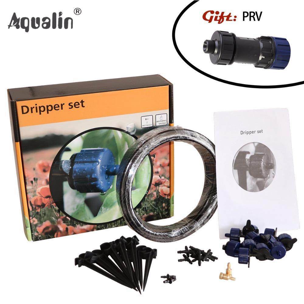 PinKart-USA Online Shopping 10M Automatic Micro Drip Irrigation System Garden Drippers Watering Kits And Pressure Reducing