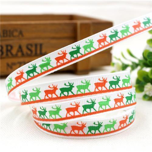 PinKart-USA Online Shopping 10MM 10 yards 1 1591032 , 15 Arrival 25Mm Christmas Series Printing Ribbon, Unique Models, Christma