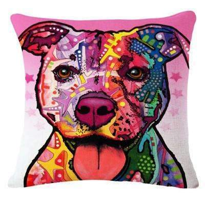 PinKart-USA Online Shopping 11 / 43x43cm Fashion Cushion Cat Print Pillow Bed Sofa Home Decorative Pillow Fundas Para Almofadas