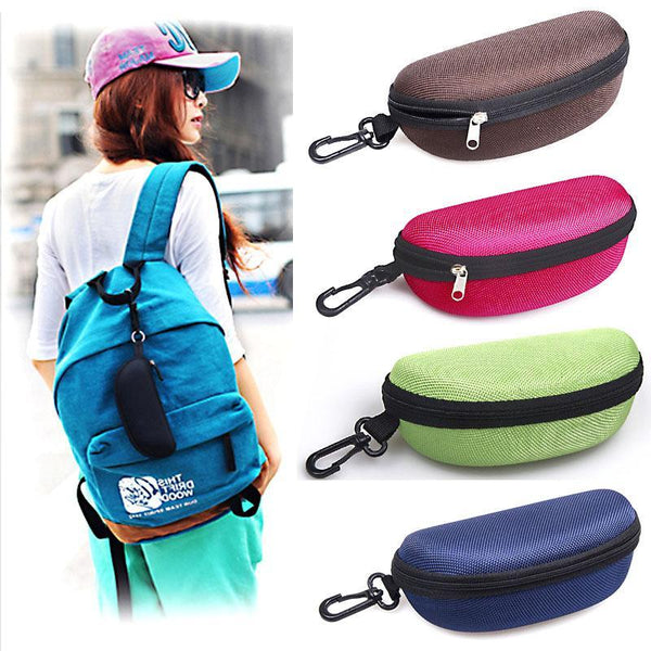 PINkart-USA Online Shopping 11 Colors Fashion Popular Portable Hard Hook Up Zipper Eyeglasses Eyewear Sunglasses Case Protector