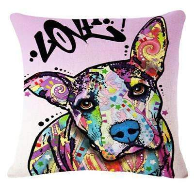 PinKart-USA Online Shopping 12 / 43x43cm Fashion Cushion Cat Print Pillow Bed Sofa Home Decorative Pillow Fundas Para Almofadas