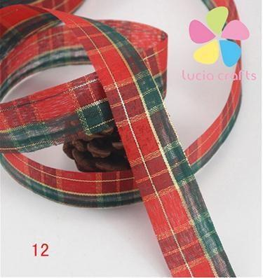 PinKart-USA Online Shopping 12 5 Yards 25Mm Printing Grosgrain Ribbon Bows Christmas Party Gift Decor Craft 040048006(1)