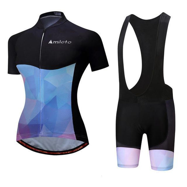 PINkart-USA Online Shopping 12 / S Breathable Women Cycling Jersey Sets Ropa Ciclismo Quick Dry Bicycle Cycling Clothing Maillot Mtb
