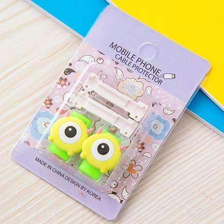 PinKart-USA Online Shopping 13 1Pc Fashion Cute Cartoon Usb Cable Protector Cover Case For Apple Iphone Android Charger Data