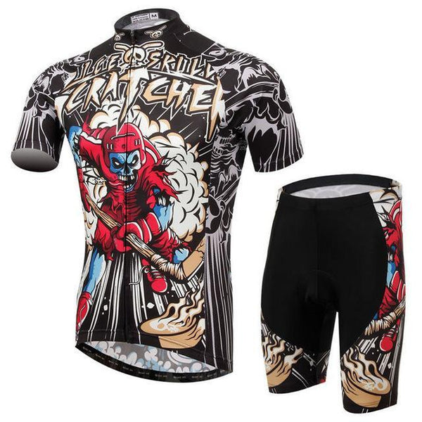 PINkart-USA Online Shopping 13 / L Skull Style Summer Cycling Clothing/Short Sleeve Cycling Jersey Ropa Ciclismo/Mtb Bike Jersey