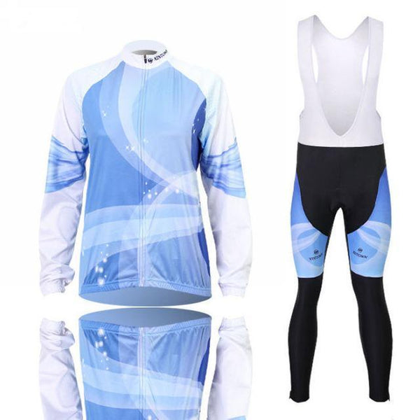PINkart-USA Online Shopping 14 1 / L Women'S Cycling Jersey Sets Winter Long Sleeve Mtb Bicycle Cycling Clothing Maillot Ciclismo