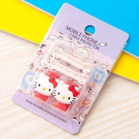PinKart-USA Online Shopping 14 1Pc Fashion Cute Cartoon Usb Cable Protector Cover Case For Apple Iphone Android Charger Data