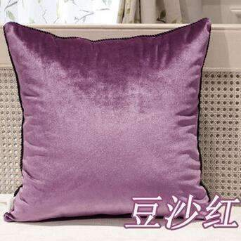 PinKart-USA Online Shopping 14 / 45x45cm Velvet Luxurious Cushions (Without Inner)Decorative Throw Pillows Sofa Home Decor Housse De
