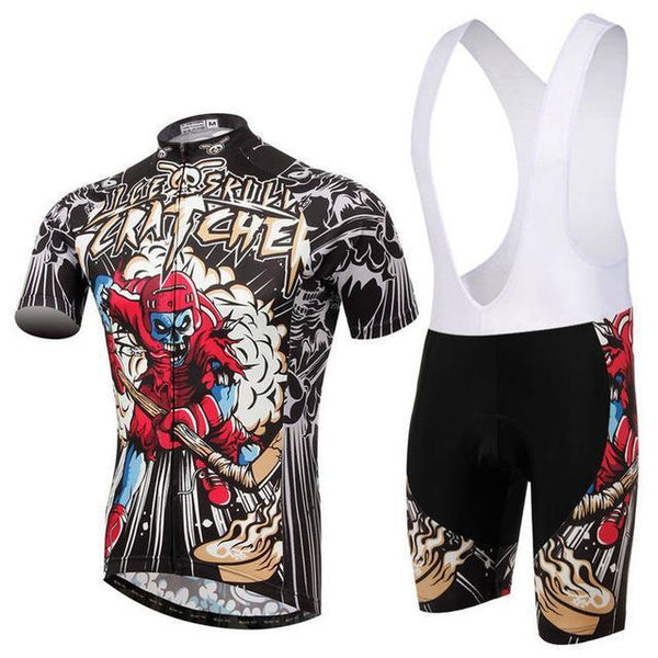 PINkart-USA Online Shopping 14 / L Skull Style Summer Cycling Clothing/Short Sleeve Cycling Jersey Ropa Ciclismo/Mtb Bike Jersey