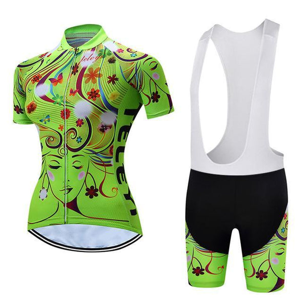 PINkart-USA Online Shopping 14 / L Teleyi Leisure Outdoor Women'S Cycling Jersey Set Sport Bicycle Cycling Clothing Ropa Ciclismo