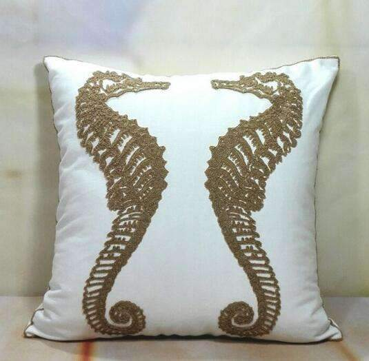 PinKart-USA Online Shopping 14 no filling Hot National Style Sofa /Carcushions Flowers And Fashion Pillows Decorate Hand-Embroidered