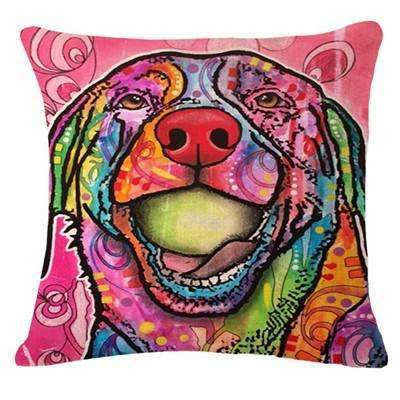 PinKart-USA Online Shopping 15 / 43x43cm Fashion Cushion Cat Print Pillow Bed Sofa Home Decorative Pillow Fundas Para Almofadas