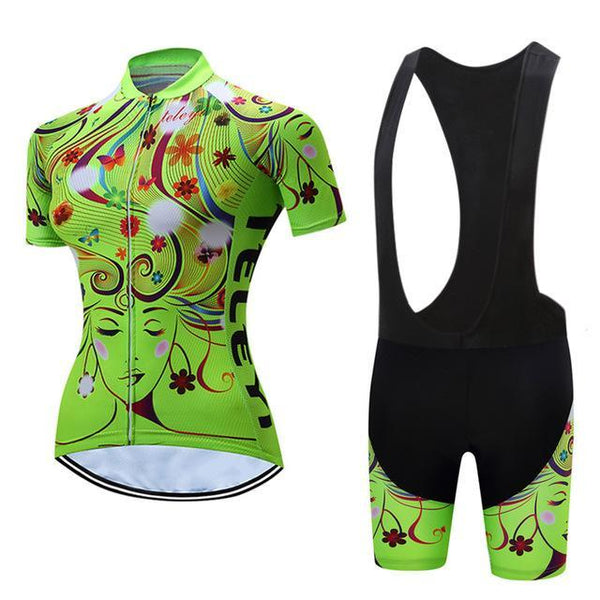 PINkart-USA Online Shopping 15 / L Teleyi Leisure Outdoor Women'S Cycling Jersey Set Sport Bicycle Cycling Clothing Ropa Ciclismo