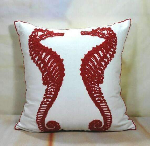 PinKart-USA Online Shopping 15 no filling Hot National Style Sofa /Carcushions Flowers And Fashion Pillows Decorate Hand-Embroidered