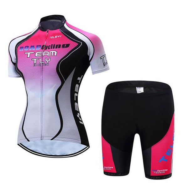PINkart-USA Online Shopping 16 / L Teleyi Leisure Outdoor Women'S Cycling Jersey Set Sport Bicycle Cycling Clothing Ropa Ciclismo