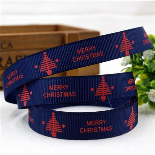 PinKart-USA Online Shopping 16MM 10 yards 1 1591032 , 15 Arrival 25Mm Christmas Series Printing Ribbon, Unique Models, Christma