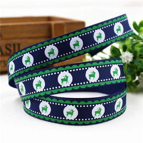 PinKart-USA Online Shopping 16MM 10 yards 3 1591032 , 15 Arrival 25Mm Christmas Series Printing Ribbon, Unique Models, Christma