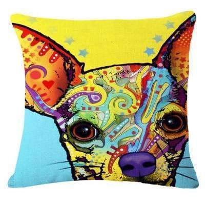 PinKart-USA Online Shopping 17 / 43x43cm Fashion Cushion Cat Print Pillow Bed Sofa Home Decorative Pillow Fundas Para Almofadas