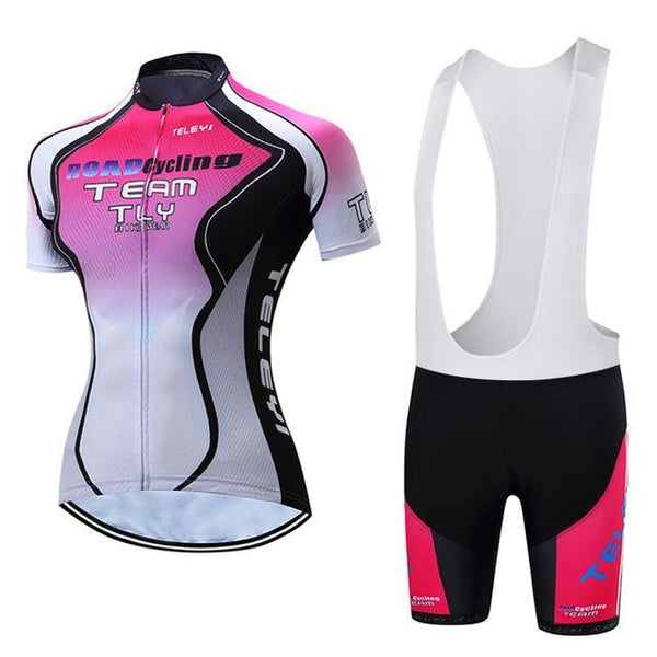 PINkart-USA Online Shopping 17 / L Teleyi Leisure Outdoor Women'S Cycling Jersey Set Sport Bicycle Cycling Clothing Ropa Ciclismo