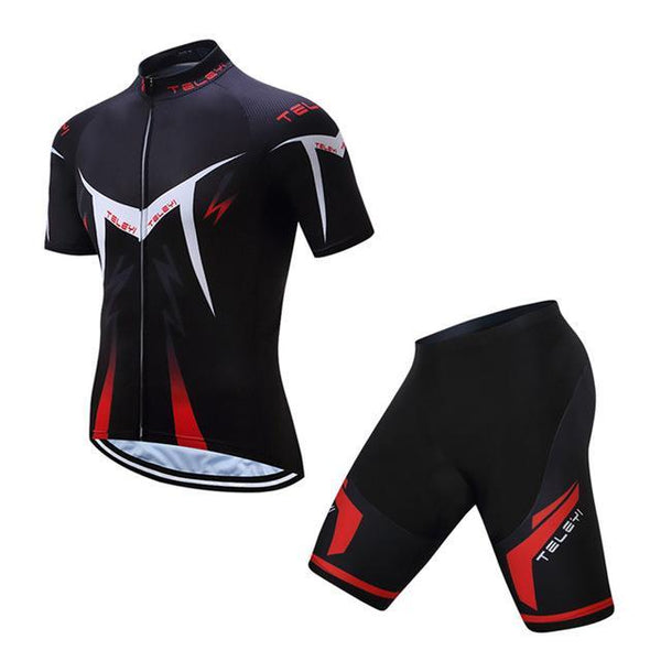 PINkart-USA Online Shopping 17 / L Teleyi Men'S Bike Team Racing Cycling Clothing Short Sleeve Cycling Jersey Summer Breathable Bike