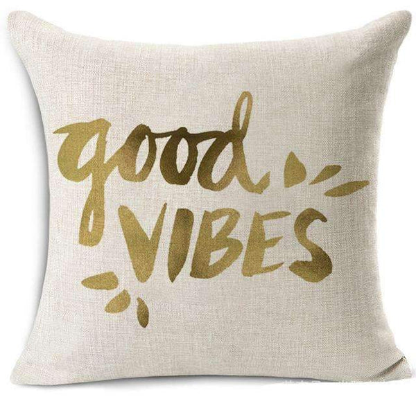 PinKart-USA Online Shopping 18 / 45x45 cm Hyha Fashion Funny Words Pillowcase Geometric Letter Pillow Cases Home Simple Colorful Words