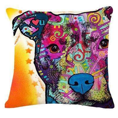 PinKart-USA Online Shopping 19 / 43x43cm Fashion Cushion Cat Print Pillow Bed Sofa Home Decorative Pillow Fundas Para Almofadas