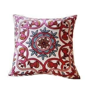 PinKart-USA Online Shopping 19 no filling Hot National Style Sofa /Carcushions Flowers And Fashion Pillows Decorate Hand-Embroidered