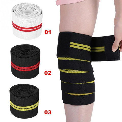 PINkart-USA Online Shopping 1Pc Adjustable Knee Strap Guard High Elasticity Wrist Knee Thigh Support Brace Strap