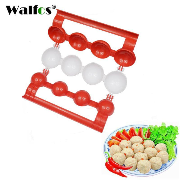 PinKart-USA Online Shopping 1Pc Bie Meatballs Maker Meat Fish Ball Mold Christmas Kitchen Homemade Stuffed Meatballs