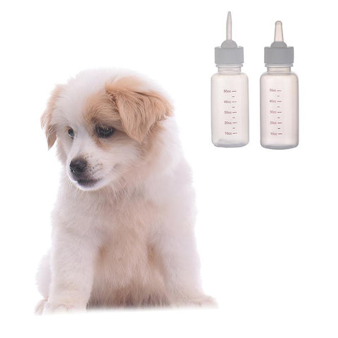 PINkart-USA Online Shopping 1Pcs Dog Puppy Kitten Pets Baby Rabbit Nursing Bottle Soft Head Pet Cat Milk Water Food Feeding
