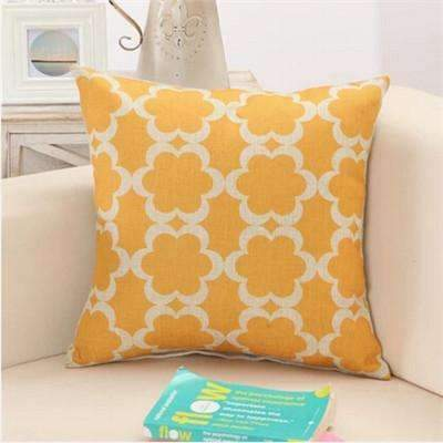 PinKart-USA Online Shopping 2 / 43x43cm Rubihome Cushion Without Inner Creative Geometric Polyester Square Home Decor Sofa Car Seat