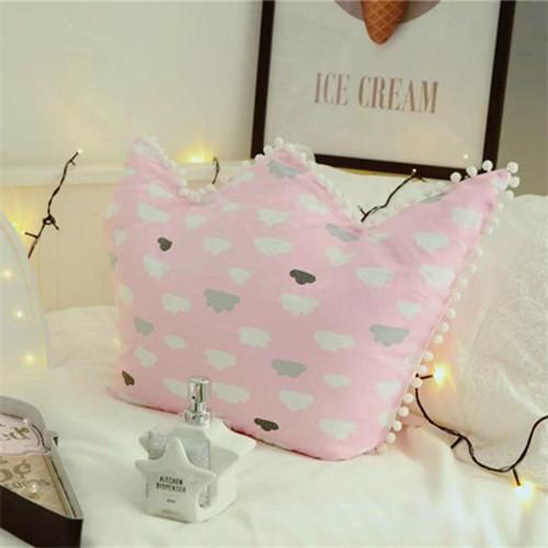 PINkart-USA Online Shopping 2 / 45x65cm Nordic Crown Cute Pillows Soft Decorative Cushions Stuffed Plush Toy Doll Christmas Gift For Girl