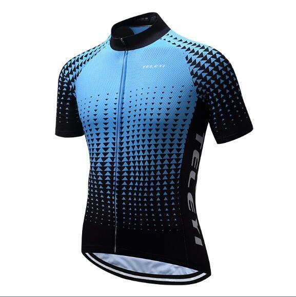 PINkart-USA Online Shopping 2 / 4XL Teleyi Brand Pro Team Men Cycling Jersey Ropa Ciclismo Breathable Mtb Bike Jersey Shirt Maillot