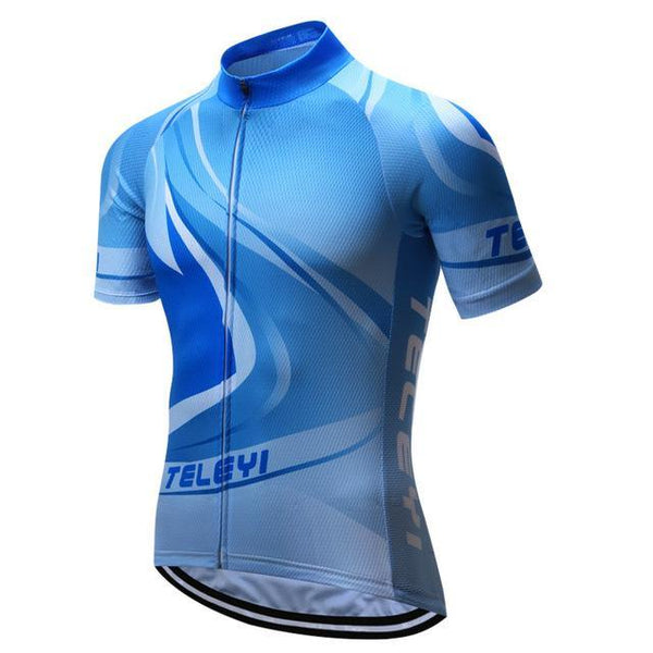 PINkart-USA Online Shopping 2 / L Brand Teleyi Breathable Cycling Jersey Summer Men'S Mountain Cycling Clothing Bicycle Clothes