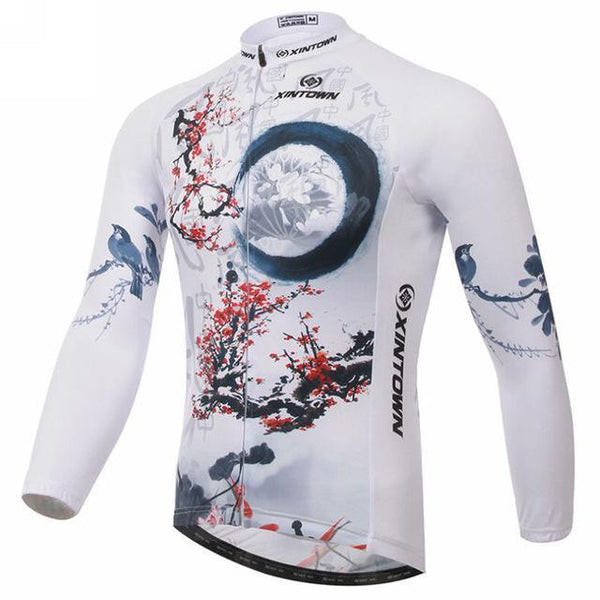 PINkart-USA Online Shopping 2 / L Men Cycling Jersey Breathable Long Sleeve Bike Jersey Cycling Clothing Ropa Invierno Ciclismo