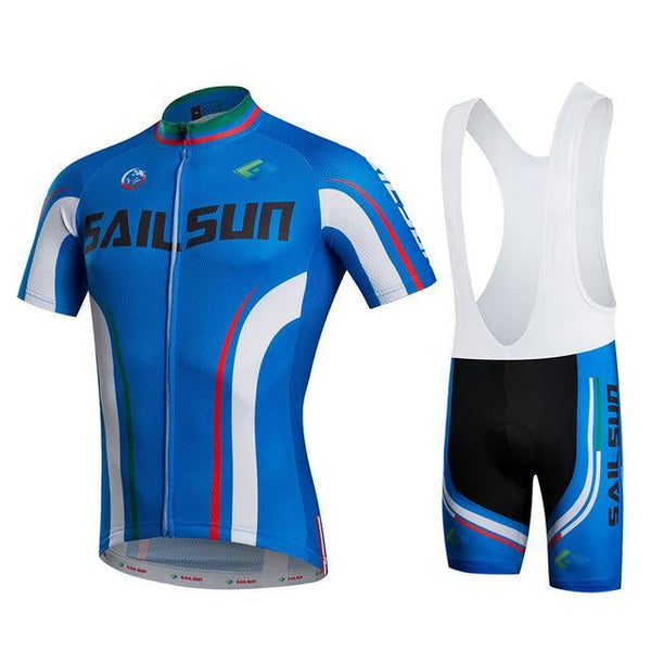 PINkart-USA Online Shopping 2 / L Sail Sun Team Racing Cycling Jersey Ropa Ciclismo Summer Cycling Clothing Breathable Mtb Bike