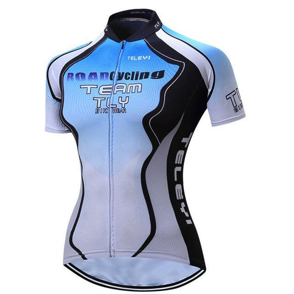 PINkart-USA Online Shopping 2 / L Teleyi Cycling Jersey Tops Summer Short Sleeve Bike Jersey Shirts Ropa Ciclismo Mountain Bicycle