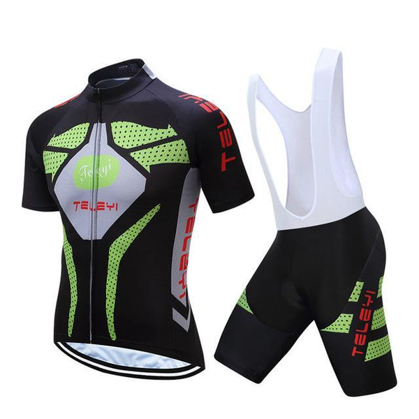 PINkart-USA Online Shopping 2 / L Teleyi Ropa Ciclismo Cycling Jersey Set Mtb Racing Sport Cycling Clothing Quick Dry Bicycle Clothes