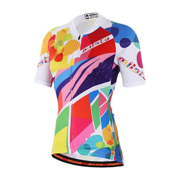 PINkart-USA Online Shopping 2 / L Womens Cycling Jersey Tops Short Sleeve Bike Jersey Clothes Mtb Cycling Clothing Ropa