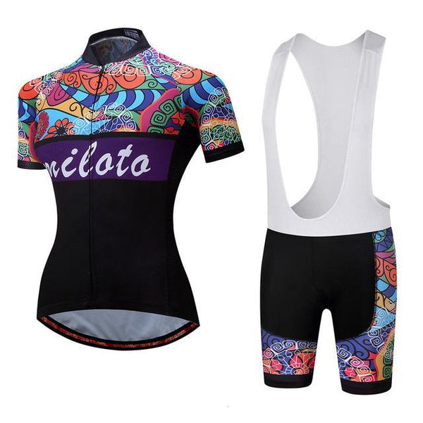 PINkart-USA Online Shopping 2 / S Breathable Women Cycling Jersey Sets Ropa Ciclismo Quick Dry Bicycle Cycling Clothing Maillot Mtb