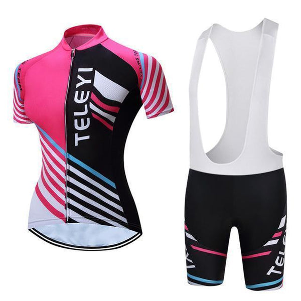 PINkart-USA Online Shopping 2 / S Teleyi Bike Team Women Cycling Jersey Ropa Ciclismo Breathable Bicycle Cycling Clothing Quick Dry