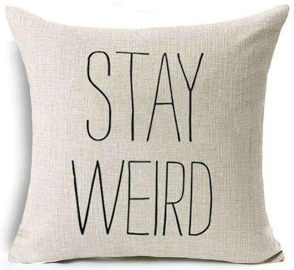 PinKart-USA Online Shopping 20 / 45x45 cm Hyha Funny Words Pillow Case Home 45X45 Cm Pillows Sea Sun Sand Style Pillowcases Home Pillows