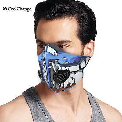 Cycling Mask With Filter 9 Colors Half Face Carbon Bicycle Bike Training Mask Mascarilla Polvo - PINkart.in