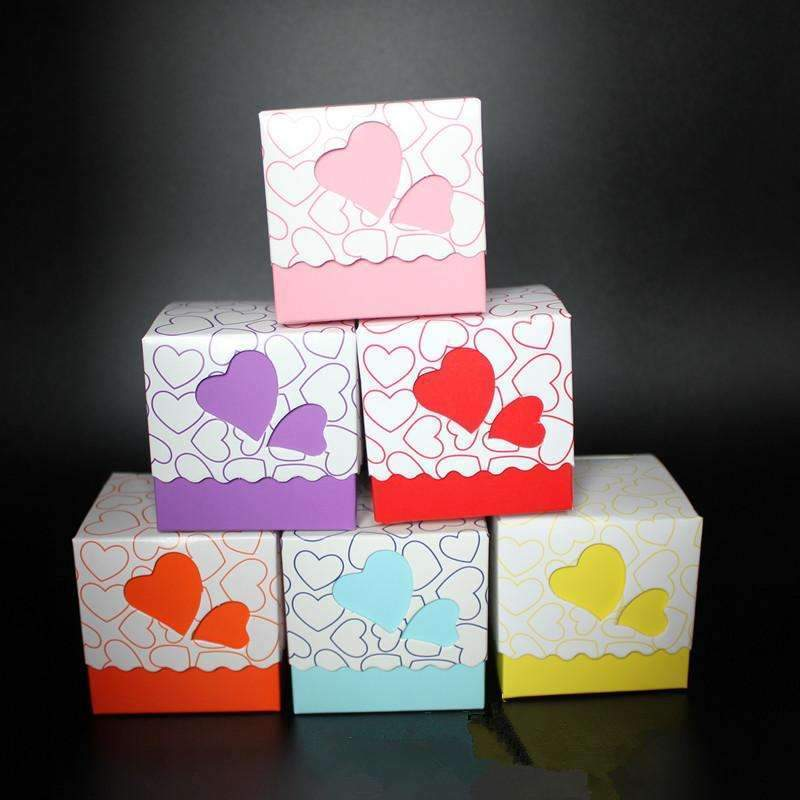 PinKart-USA Online Shopping 200Pcs/Lot Ly Opened Sales Most Competitive&Popular Wedding Favor Candy Boxes