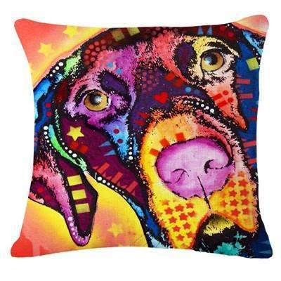 PinKart-USA Online Shopping 21 / 43x43cm Fashion Cushion Cat Print Pillow Bed Sofa Home Decorative Pillow Fundas Para Almofadas