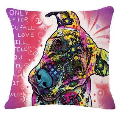 PinKart-USA Online Shopping 22 / 43x43cm Fashion Cushion Cat Print Pillow Bed Sofa Home Decorative Pillow Fundas Para Almofadas