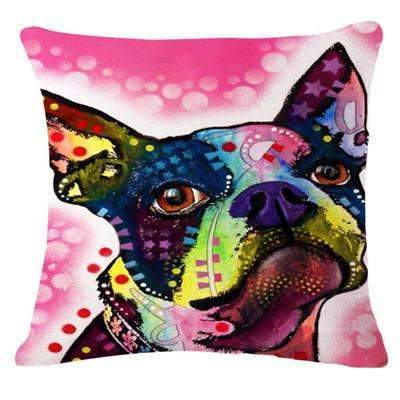 PinKart-USA Online Shopping 23 / 43x43cm Fashion Cushion Cat Print Pillow Bed Sofa Home Decorative Pillow Fundas Para Almofadas
