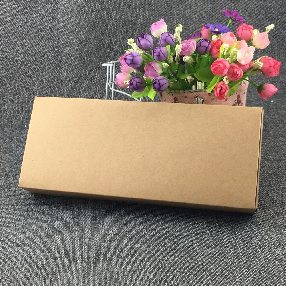 PINkart-USA Online Shopping 24Pcs/Lot Kraft Paper Jewelry Rectangle Box Display Gift Boxes Package Blank Boxes For